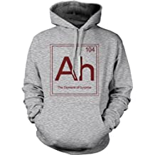 Ah The Element Of Surprise Sweatshirt Funny Periodic Table Hoodie L