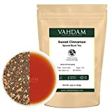 Cinnamon Spice, Masala Chai Tea (50 Cups) - Sweet & Spicy Cinnamon Tea, Bend of Assam Black Tea with Fresh Cinnamon & Cardamom - India's Original Masala Tea Recipe, Blended & Packed in India