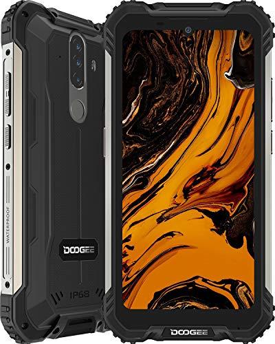 Telephone Portable Incassable, DOOGEE S58 Pro Smartphone Débloqué 4G, 5.71 Pouces, Android 10.0, 6Go+64Go, 16MP+16MP… 1