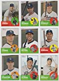 San Diego Padres / 2012 Topps Heritage Team Set - 9 Cards Including Chase Headley, Nick Hundley, Huston Street, Cameron Maybin and More