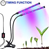 Cheap Dual-lamp Grow Light Autien 36LEDs 4 Levels 3 Modes Timing(3H/6H/12H) Plant Lights Bulbs Growing Lamps with 360 Degree Flexible Gooseneck for Indoor Plants Garden Greenhouse Tent Herbs Potted