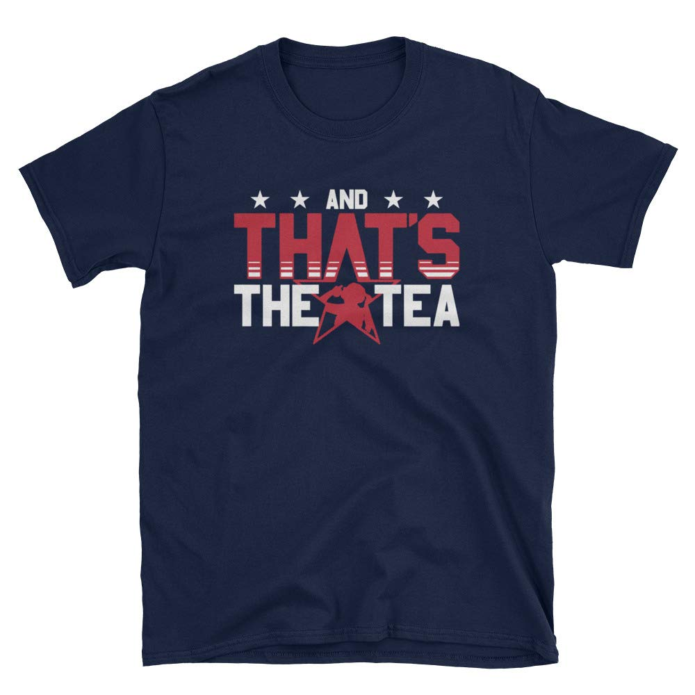Fourth Star And That S The Tea Usa Soccer Champions 2019 T Shirt