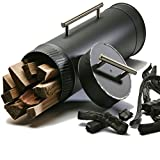 Cheap America Sequesters CO2's BioCharlie (Make Biochar In Your Fireplace) Let Your Fireplace Go Green Tonight With This Hand Crafted Fireplace Accessory