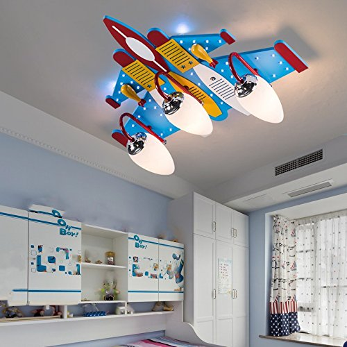 Aeroplane ceiling pendant light childrens room bedroom led living aeroplane ceiling pendant light childrens room bedroom led living room creative boy rooms lights lamps aloadofball Gallery