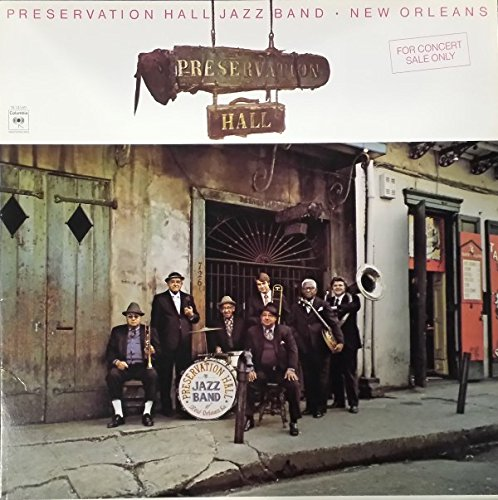 Preservation Hall Jazz Band: New Orleans, Vol. 1 [Vinyl LP] [SQ Stereo / Quadraphonic] by Columbia Masterworks