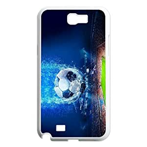 High Quality Phone Back Case Pattern Design 13Love Football,Love Life- For Samsung Galaxy Note 2 Case