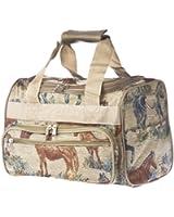 World Traveler Western Horse Travel Duffle Bag