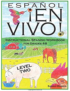 Amazon.com: Español En Vivo Level 1: Instructional Spanish Workbook ...
