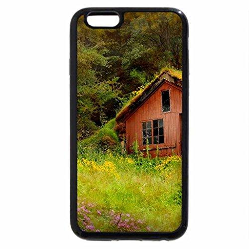 iPhone 6S / iPhone 6 Case (Black) garden house