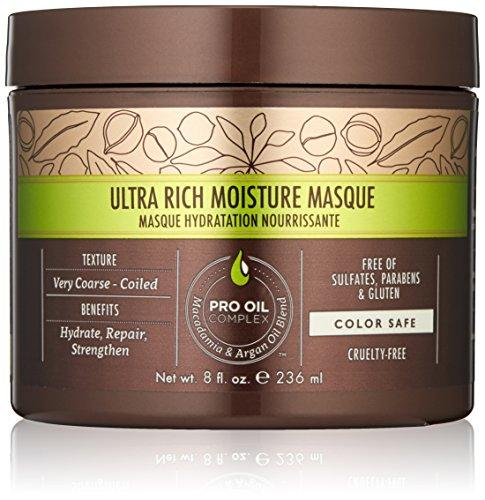 Macadamia Hair Ultra Rich Moisture Masque - 8 oz by Macadamia Professional