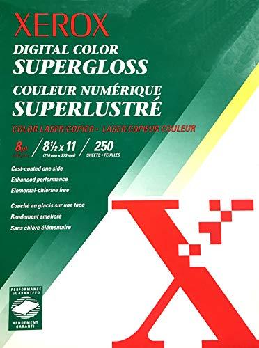 XEROX Digital Color SuperGloss Color Photo Laser/Copier Paper 8.5