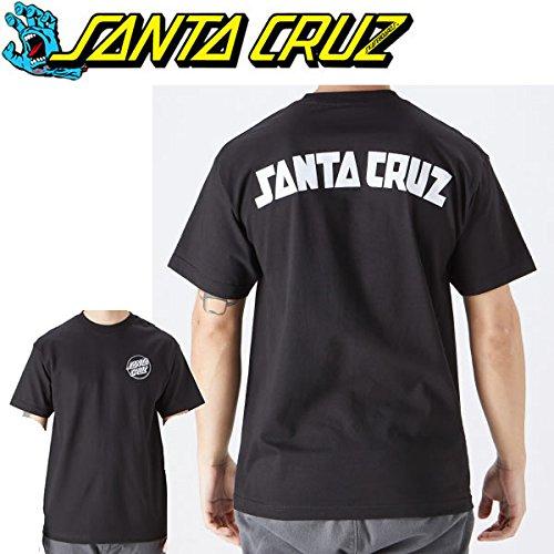 トーンウォーターフロントフラップSANTA CRUZ サンタクルーズ Tシャツ SANTA CRUZ ARCH STRIP S S BLACK 片胸ドットロゴ スケボー ブランド Tシャツ【C1】