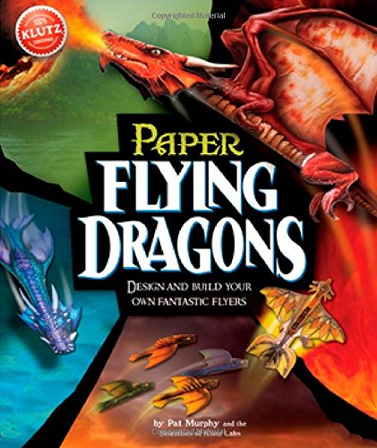 Klutz Paper Flying Dragons Craft Kit