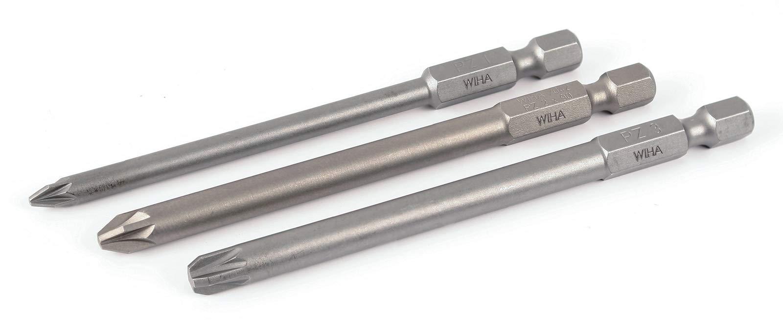 Wiha 76091 Pozidriv Power Blade 3 Pc. Set