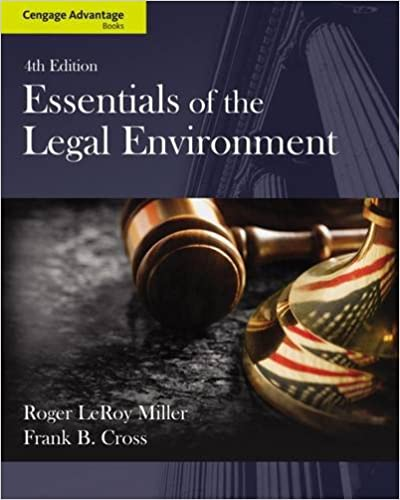 Cengage advantage books essentials of the legal environment roger cengage advantage books essentials of the legal environment 4th edition fandeluxe Gallery