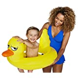 BigMouth Lucky Duck Lil' Water Float-Pool for Infants and Kids Ages 1-3, Perfect for Beginner Swimmers