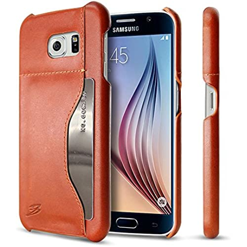 Galaxy S7 Edge Case ,BELK [Genuine Leather][Vintage Classic Series] slim Professional Executive Snap on cover Sales