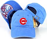 Chicago Cubs American Needle New Raglin Cotton Twill Screen Printed Cap