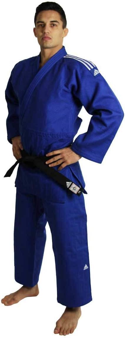 judogi adidas blu