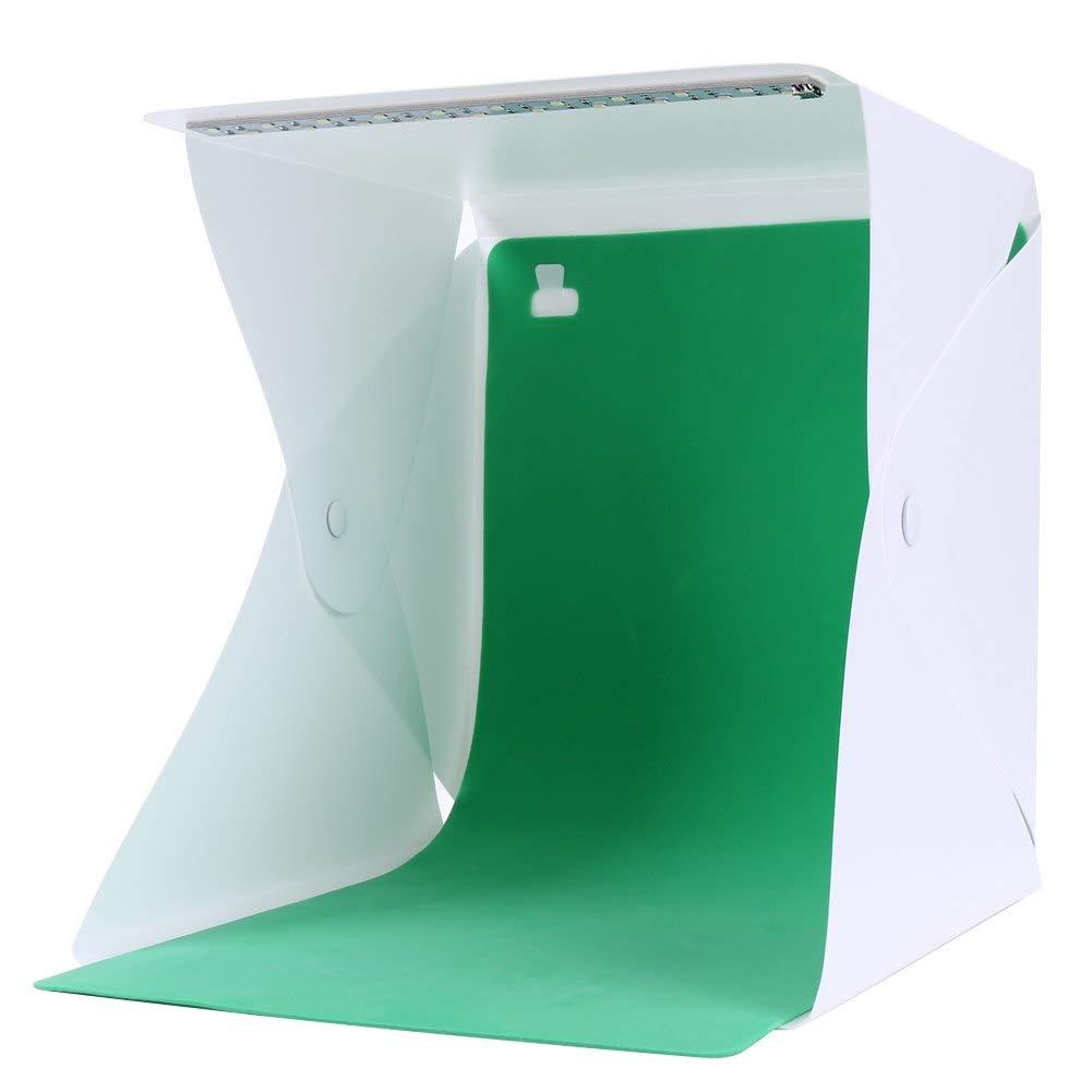 SUPERELE Mini Light Room Box Studio Softbox Portable Photography Studio Mini Foldable Softbox LED Light Backdrop Box 27.524.54cm