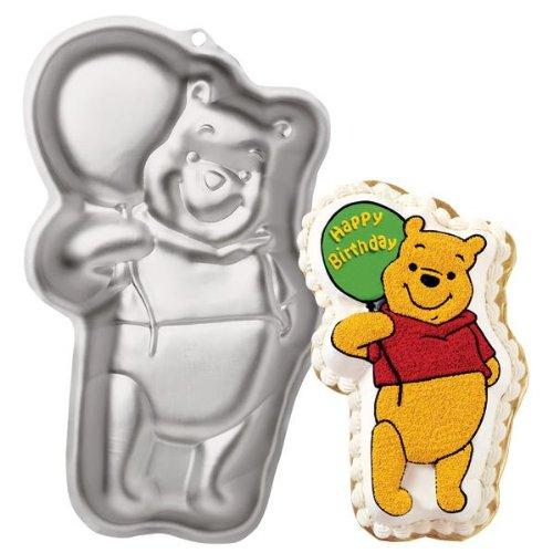 Wilton Disney's Winnie the Pooh Bear with Balloon Cake Pan - Pooh Bear Cake Birthday