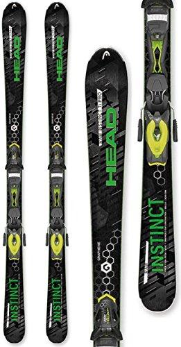 (HEAD Raw Instinct Ti Pro Skis w/PRX 12 Bindings Mens Sz 163cm)