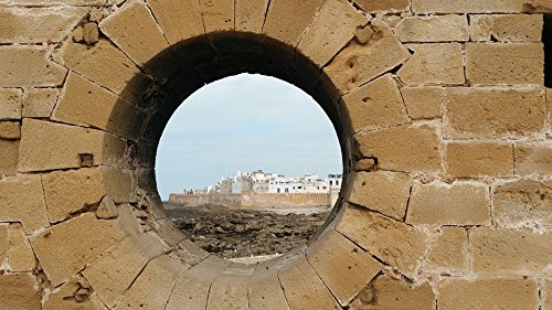 Peel-n-Stick Poster of Port Essaouira Harbor Citadel Fishing Poster 24x16 Adhesive Sticker Poster Print -