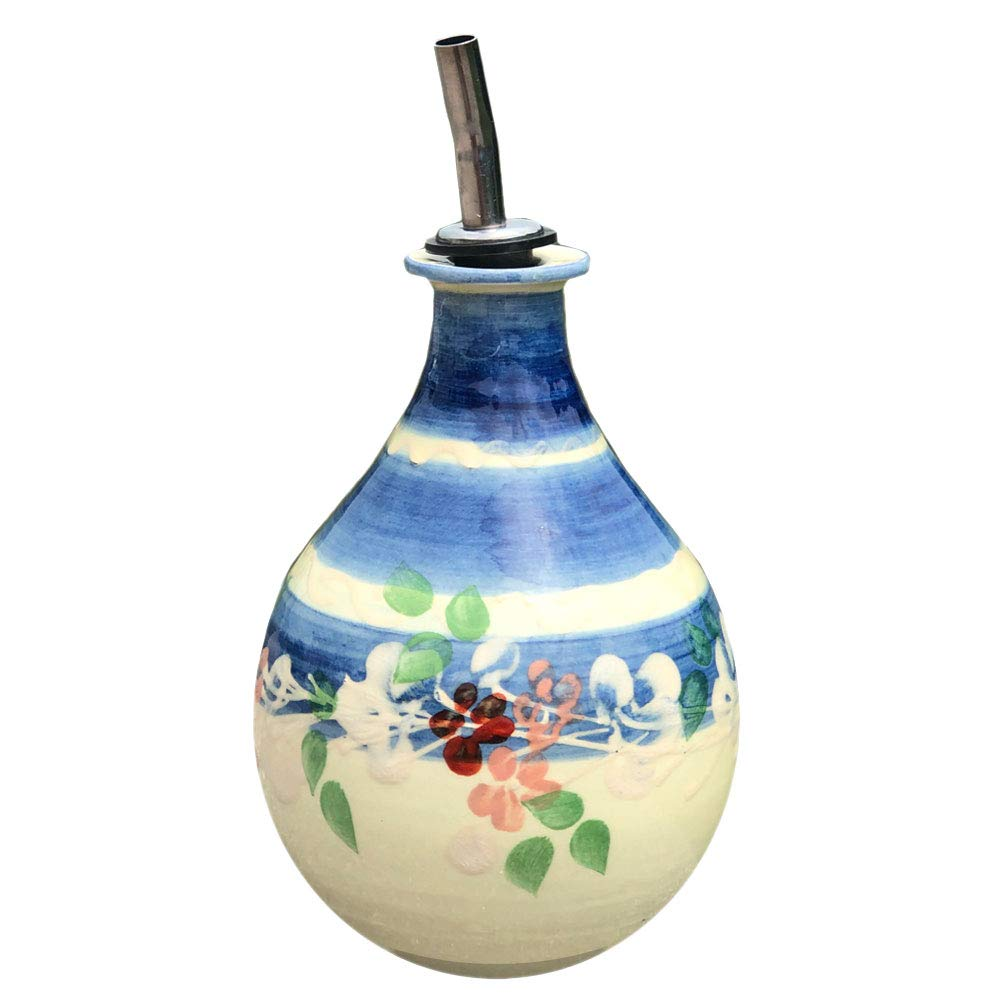 Souleo Provence Terre e Provence Pottery - Olive Oil Bottle by Souleo Provence Terre e Provence Pottery