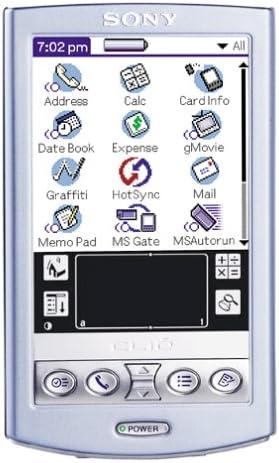 B00005T38Z CLIE PEG-N610C/V Purple Handheld 512S9D3R3GL.