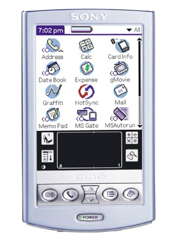 CLIE PEG-N610C/V Purple (Sony Palm Os Handheld Pda)
