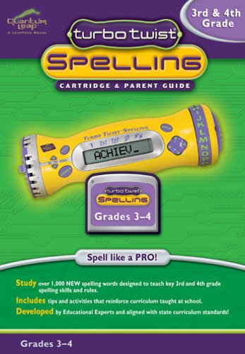 Turbo Twist Spelling Cartridge: 3rd and 4th Grade by Turbo Twist (Image #1)