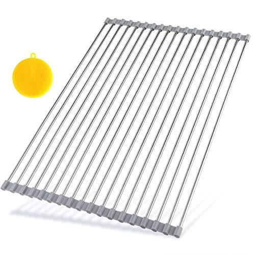 (Hhyn Roll Up Dish Drying Rack 20.5
