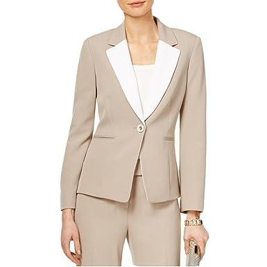 16402f1d90d Tahari by Arthur S. Levine Petite Contrast Colorblocked Blazer Jacket