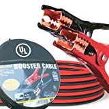 Automotive : Cartman Booster Cable 4 Gauge x 20Ft in Carry Case UL Listed (EVA Case)
