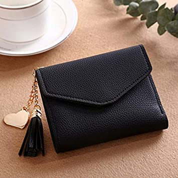 a16eff69bb6f Long Wallet Women Purses Tassel Fashion Coin Purse Card Holder Wallets  Female Clutch Money Bag PU Leather Wallet - 230ShortWallet-1