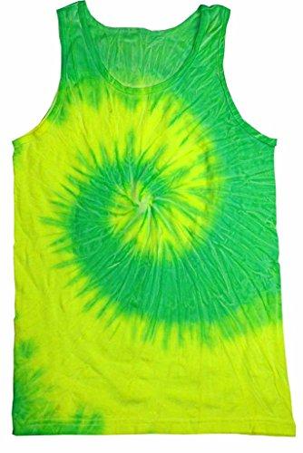 Colortone Unisex Tie Dye Tank