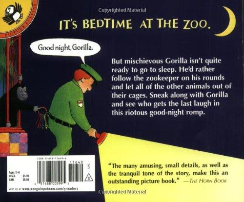 Good night gorilla picture puffins peggy rathmann 9780698116498 good night gorilla picture puffins peggy rathmann 9780698116498 amazon books altavistaventures Images