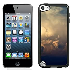 New Beautiful Custom Designed Cover Case For iPod 5 With Storm Clouds And Rainbow Phone Case