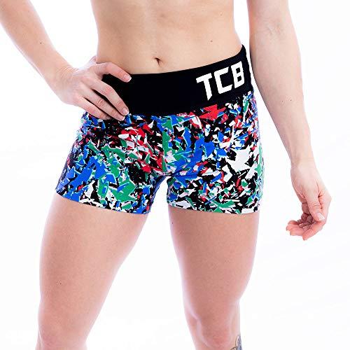 Shorts Feminino Tcb Estampado Cor:preto;tamanho:m
