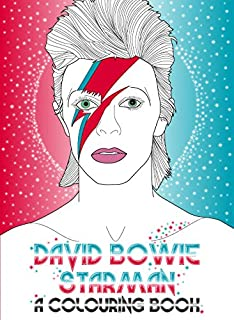 david bowie starman a coloring book