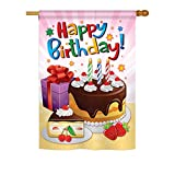Happy Birthday Indoor/ Outdoor Sublimation Flag 28″ X 40″ 15073 Review