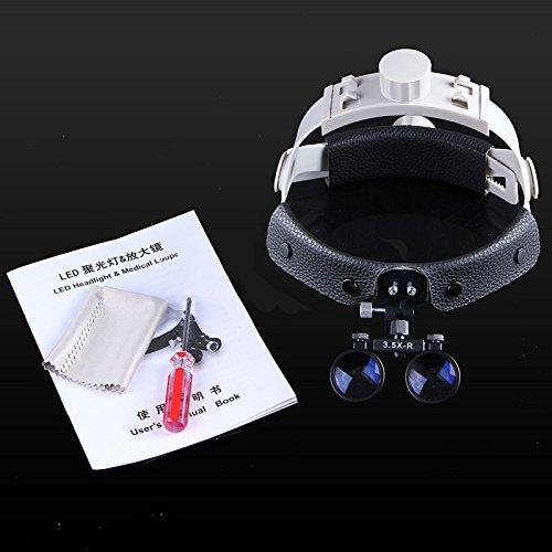 Ocean Aquarius 3.5 X-R Binocular Loupes Black Headband Surgical Medical Glasses DY-108 by Ocean Aquarius (Image #7)