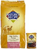 Nature's Recipe Healthy Skin & Coat - Venison + Venison Treats Bundle