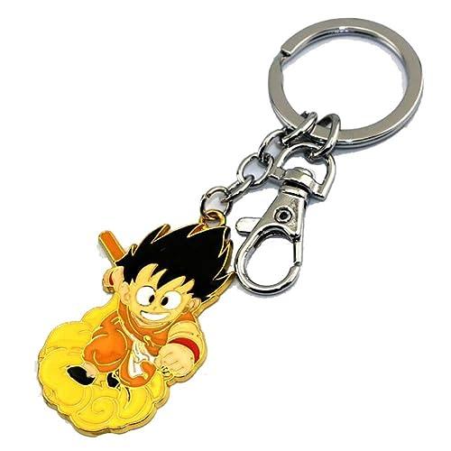 Etruke Anime Dragon Ball Son Goku Llavero Colgante Llavero ...