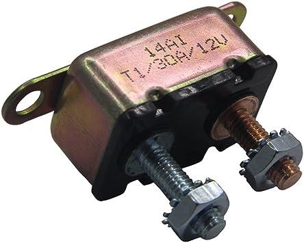 RV//Camper//Trailer 2 PACK 12V Circuit Breaker 30A Auto-Reset NEW