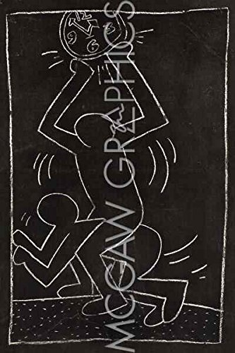 Amazonde Subway Zeichnen 12 Keith Haring Abstrakt Moderne Pop Art