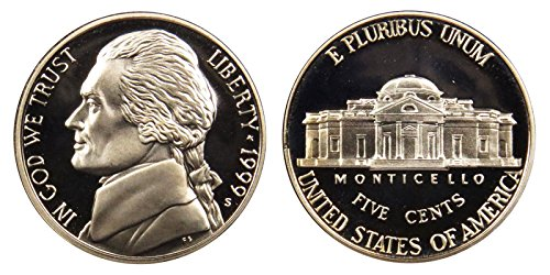 1999 S Proof Jefferson Nickel PF1