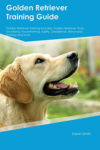 Golden Retriever Training Guide Golden Retriever Training Includes: Golden Retriever Tricks, Socializing, Housetraining, Agility, Obedience, Behavioral Training and More
