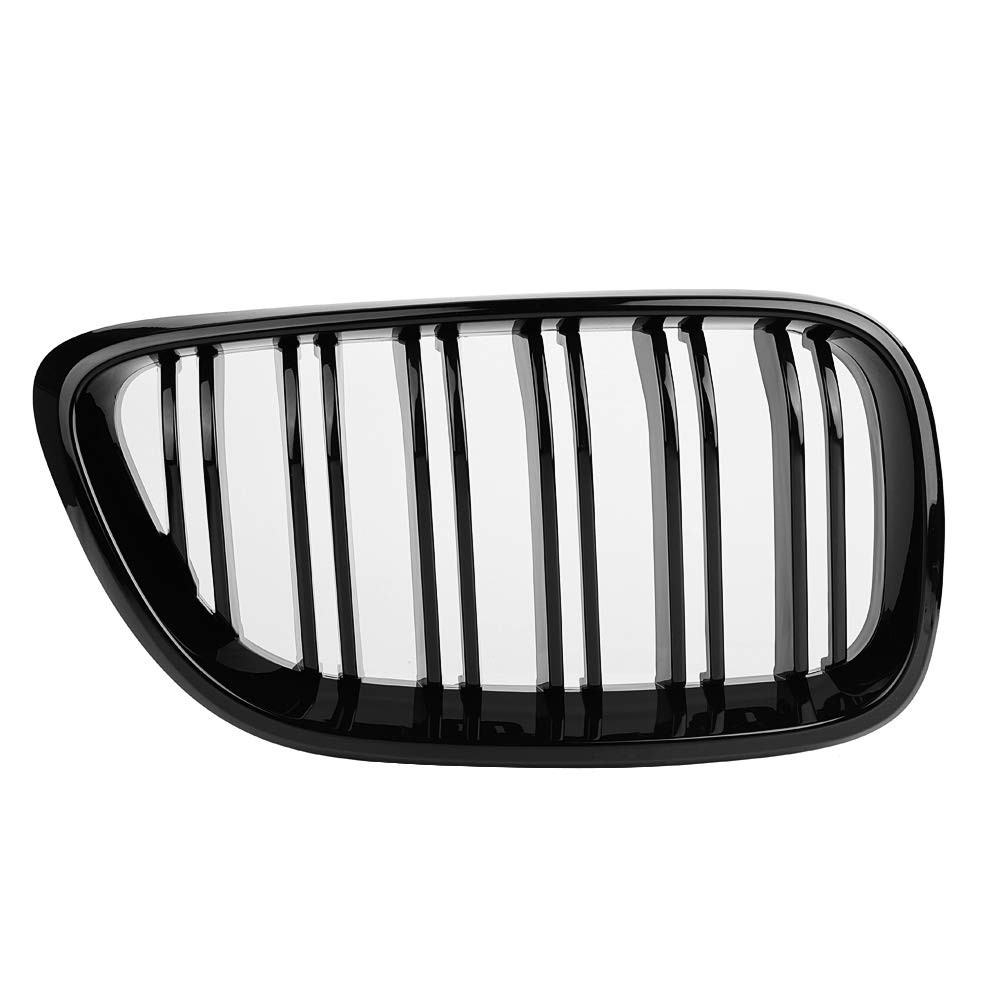1Pair Front Bumper Grill Grille for BMW 2SERIES F22 F23 F87 M2 2012-2017Gloss Black Style Aramox Car Front Grille