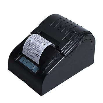 WSY Impresora térmica de Recibos USB, Mini Impresora de ...